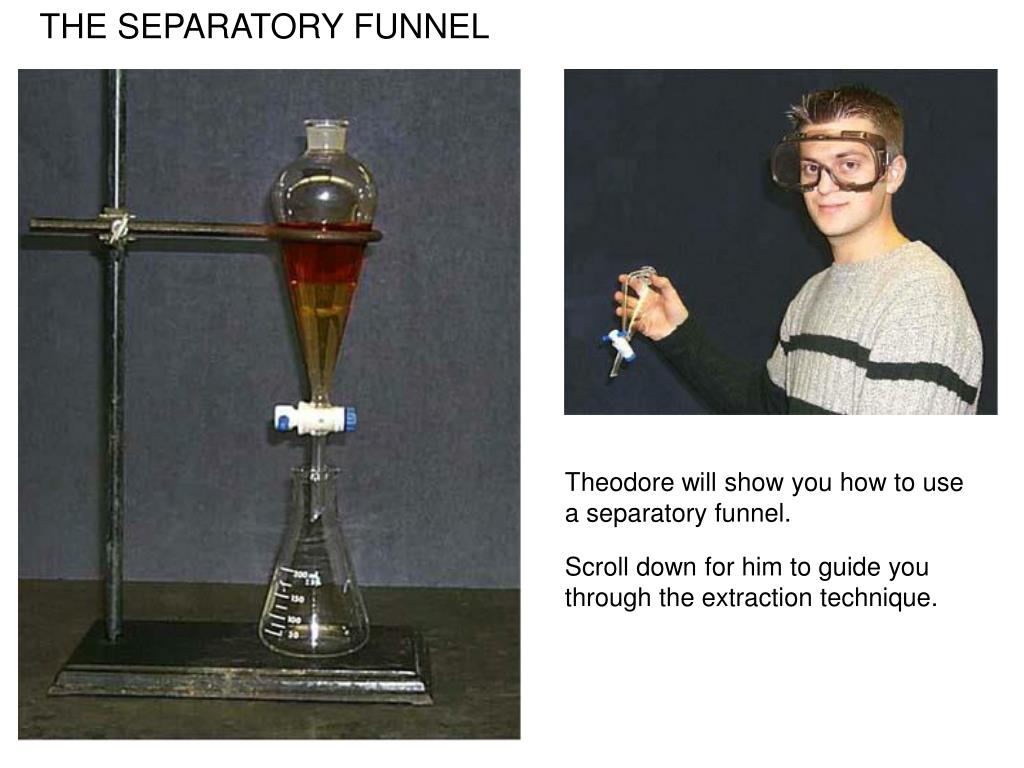 Ppt The Separatory Funnel Powerpoint Presentation Free Download Id 3095337