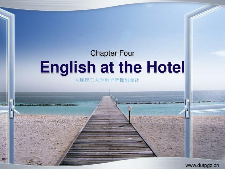 chapter four english at the hotel n.