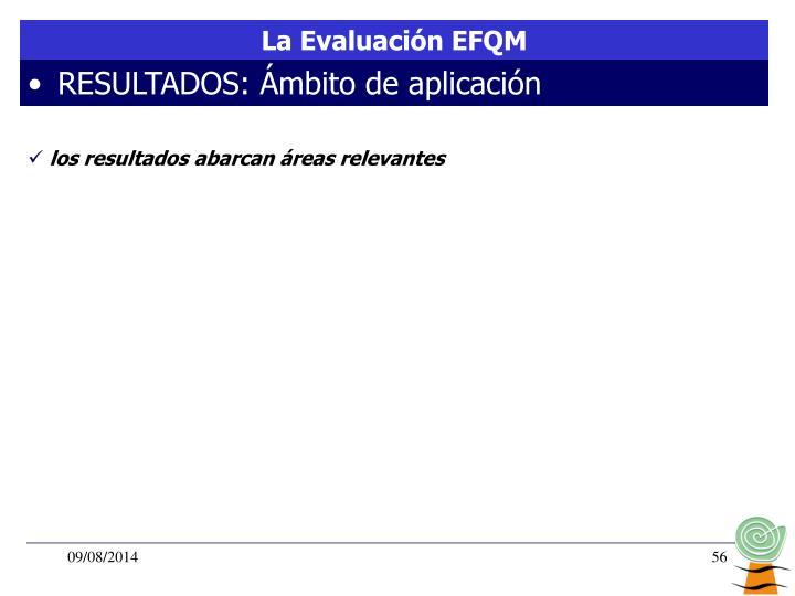 La Evaluación EFQM