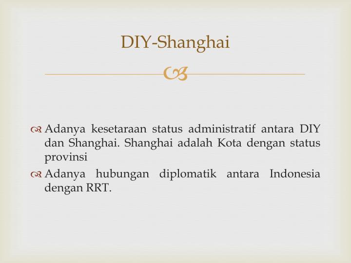 DIY-Shanghai
