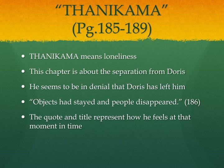 """""""THANIKAMA"""""""