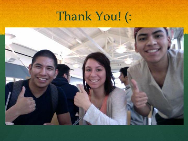 Thank You! (: