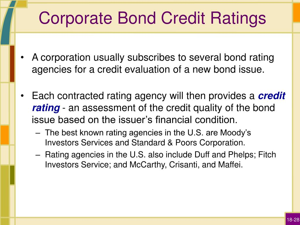 PPT - Corporate Bonds PowerPoint Presentation - ID:3095756