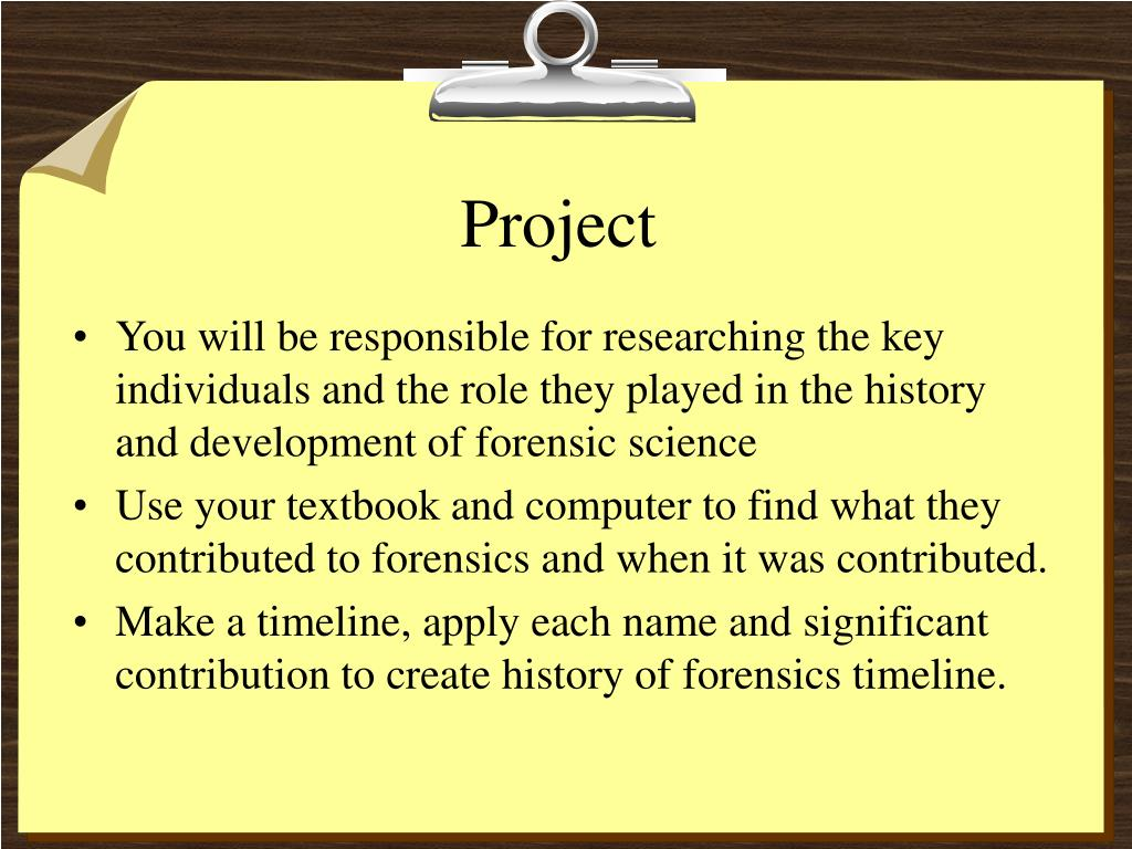 Ppt Introduction To Forensic Science Powerpoint Presentation Free Download Id 3095958