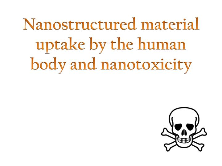 Nanostructured