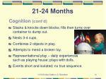 21 24 months1