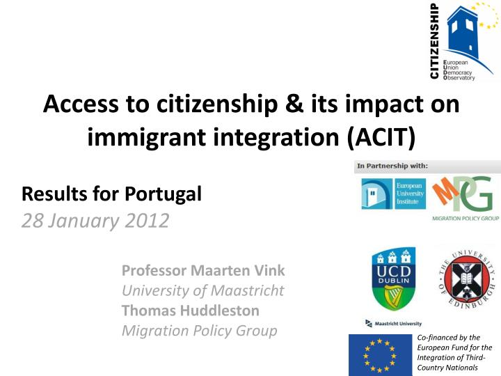 immigrant integration Immigrant integration about cipc advances policies that foster the full participation of immigrants in civic it is critical to continue the work to boost immigration services funding, support advocates and.