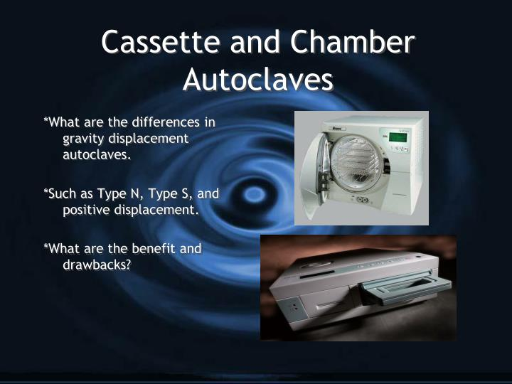Cassette and Chamber Autoclaves
