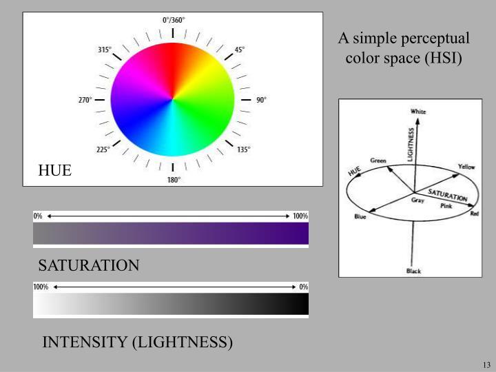 A simple perceptual