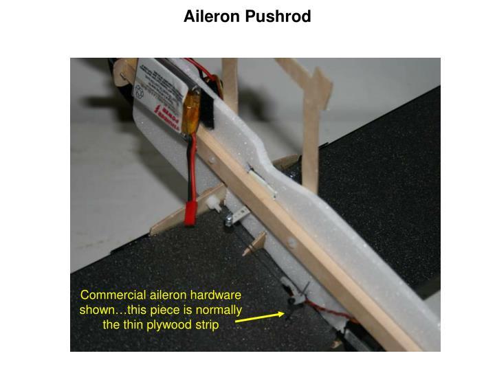 Aileron Pushrod