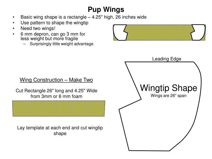Pup Wings