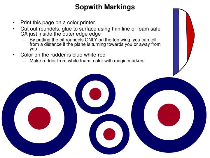 Sopwith Markings