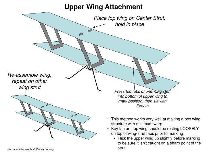 Upper Wing Attachment