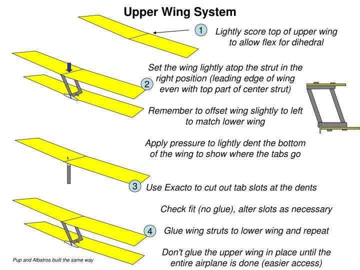 Upper Wing System