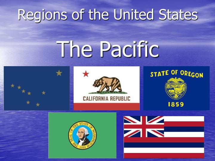 regions of the united states the pacific n.