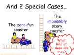 and 2 special cases