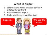 what is slope