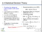 2 4 statistical decision theory4