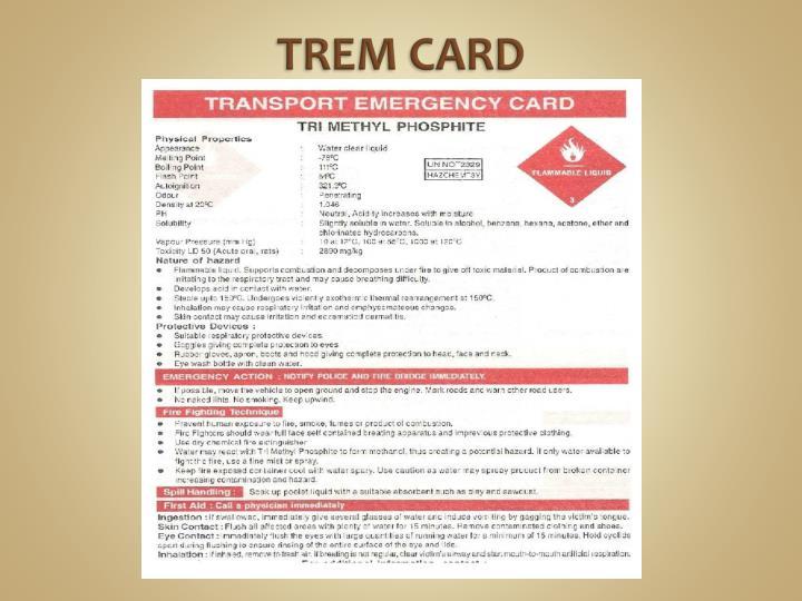 Trem Card