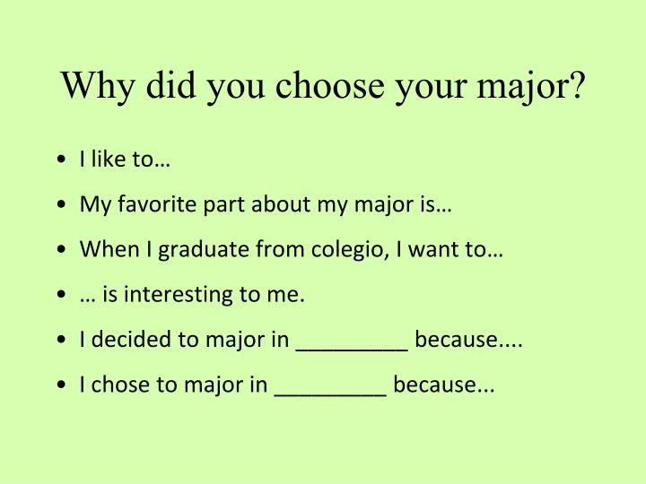 why i choose accounting as my major 10 things to consider before choosing your major what