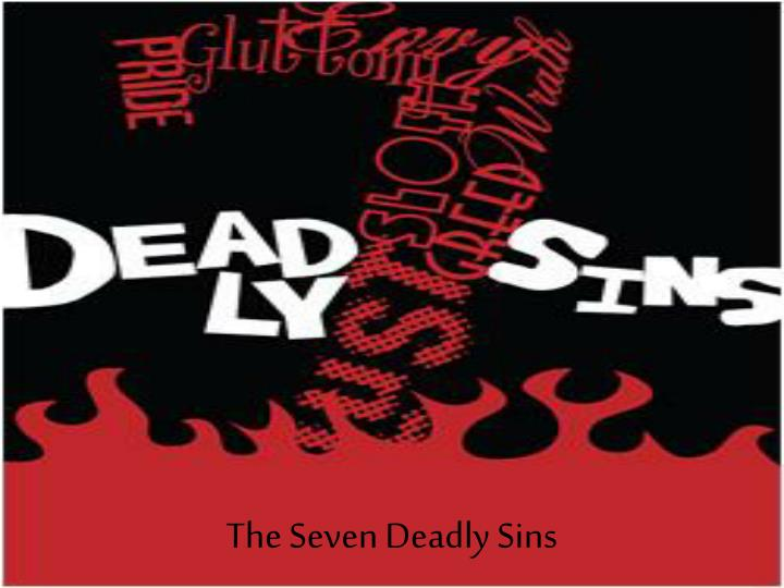 the seven deadly sins n.