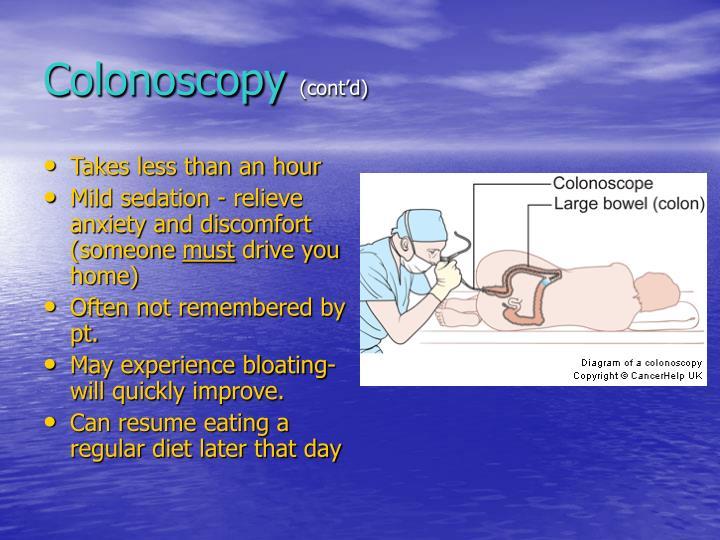 Colonoscopy