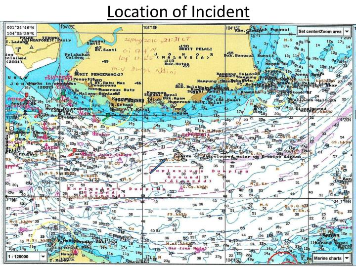 Location of incident
