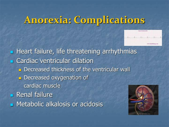Anorexia: Complications