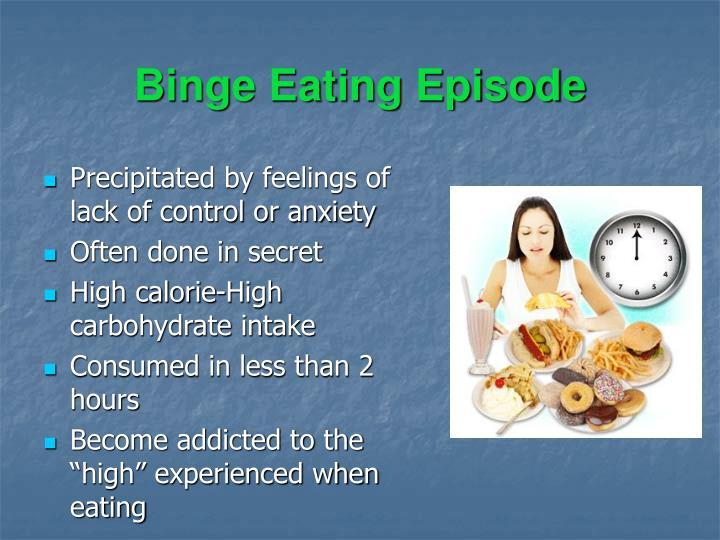 Binge Eating Episode