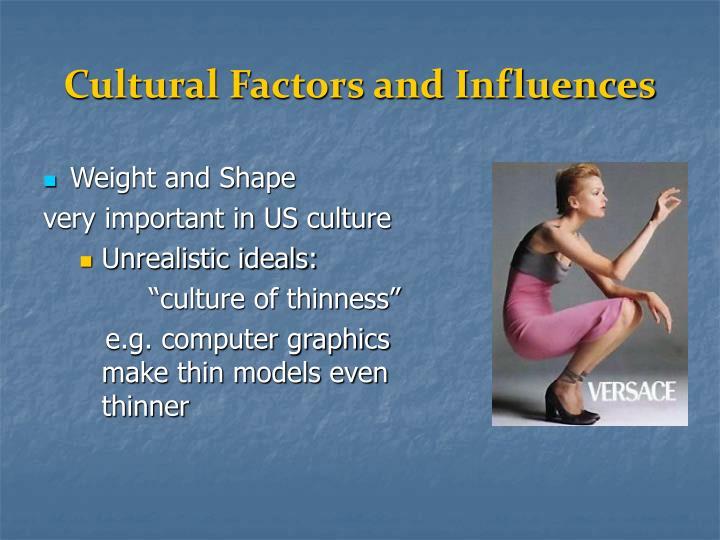 Cultural Factors and Influences