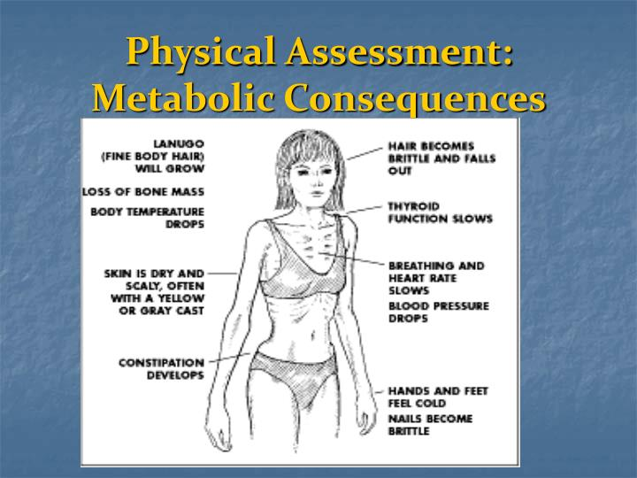 Physical Assessment: Metabolic Consequences