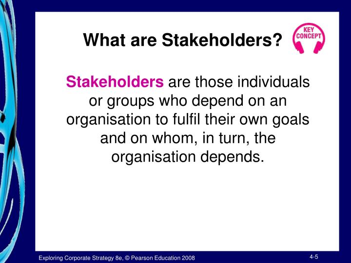 stakeholders are groups of people who 411 identifying stakeholder groups  people involved in forestry  groups of stakeholders will overlap and be dynamic with the same person or group having.