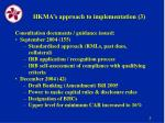 hkma s approach to implementation 3