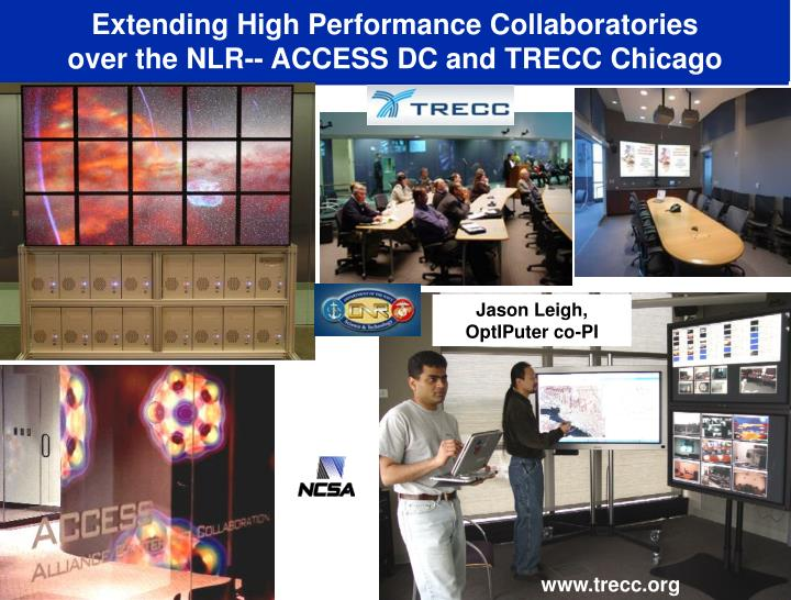 Extending High Performance Collaboratories
