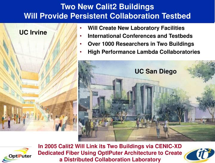 Two New Calit2 Buildings