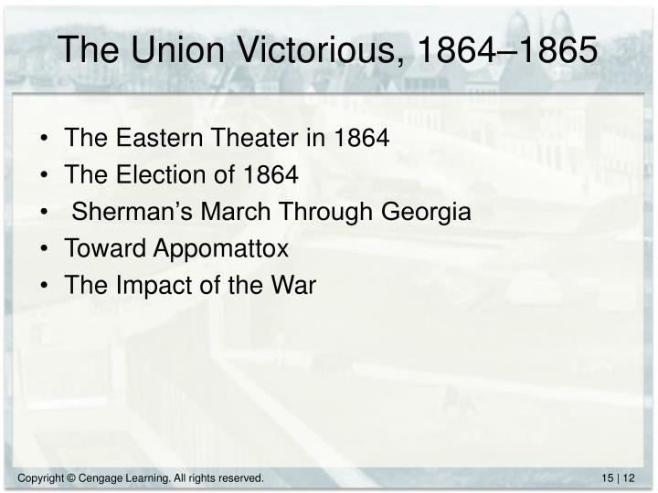 The Union Victorious, 1864–1865