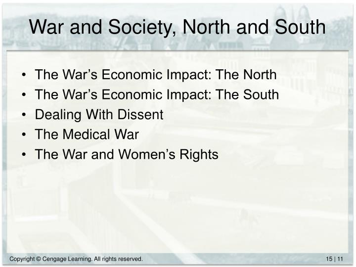 War and Society, North and South