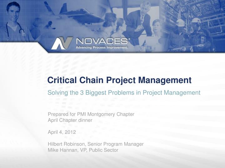 critical chain project management n.