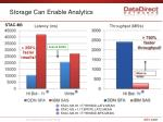 storage can enable analytics