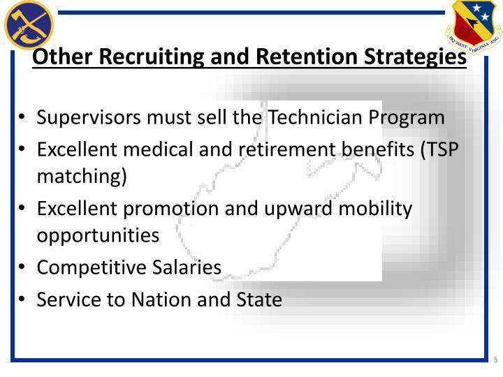Other Recruiting and Retention Strategies