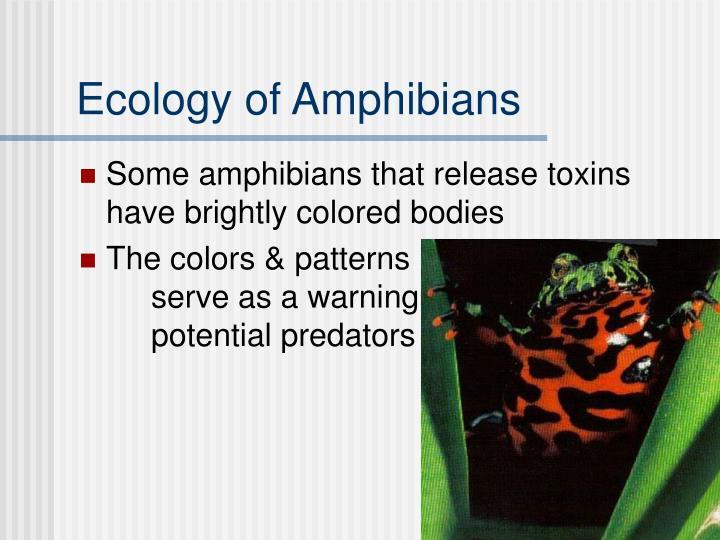 Ecology of Amphibians
