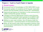 project 2 youth to youth project in uganda1
