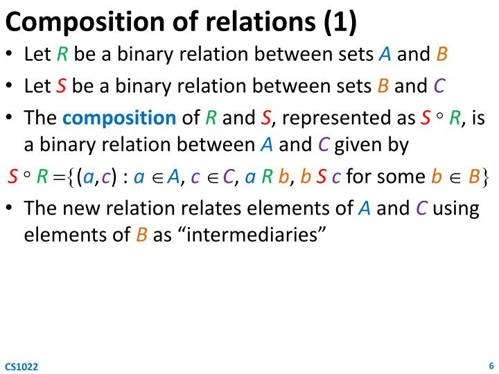 Composition of relations (1)