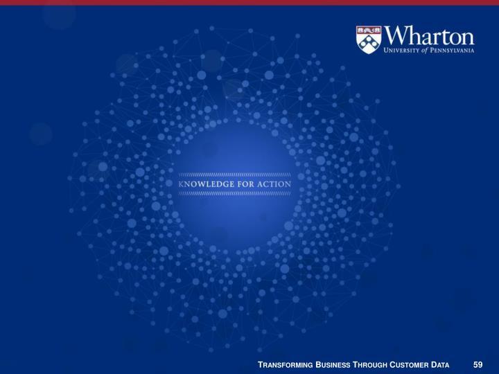 Transforming Business Through Customer Data