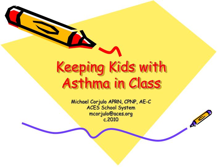 keeping kids with asthma in class n.
