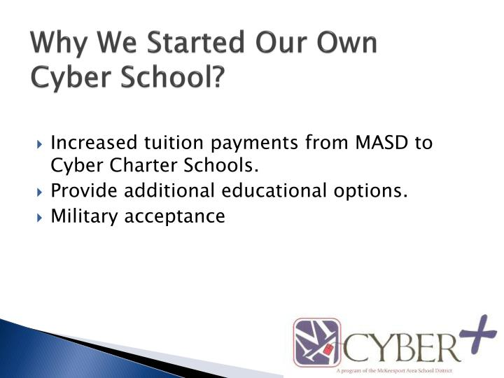 Why we started our own cyber school