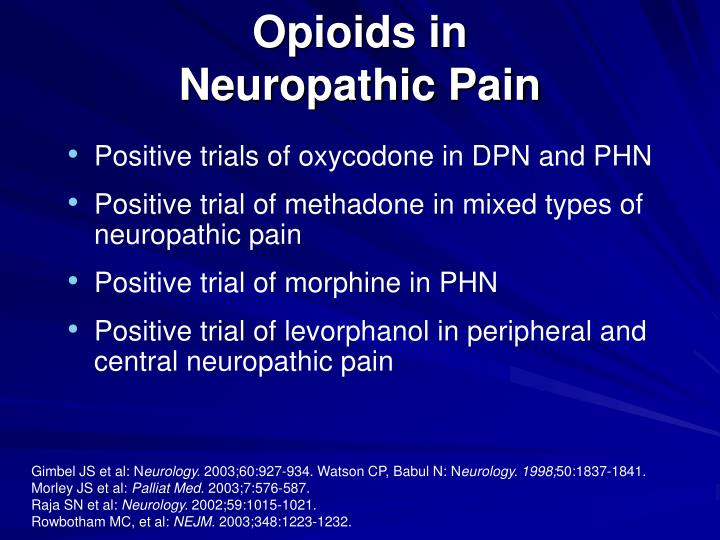 Opioids in