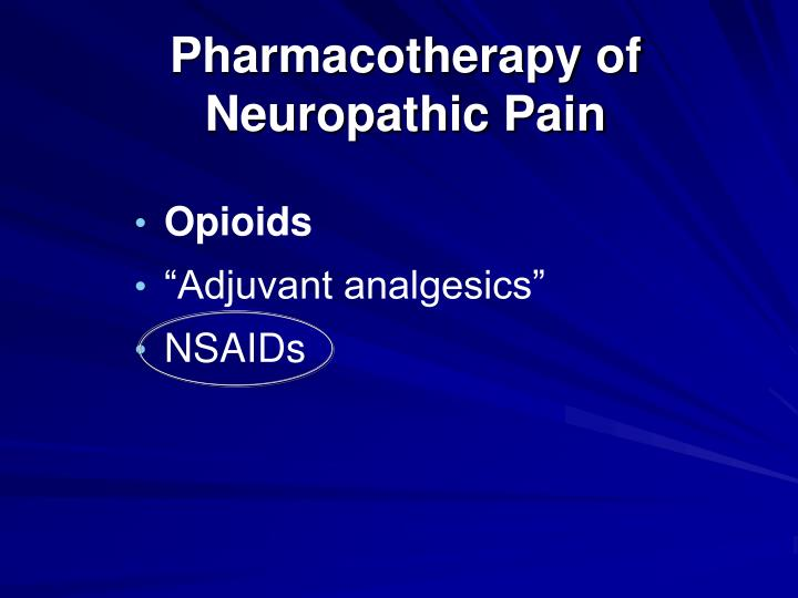 Pharmacotherapy of
