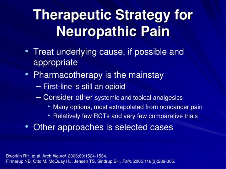 Therapeutic Strategy for