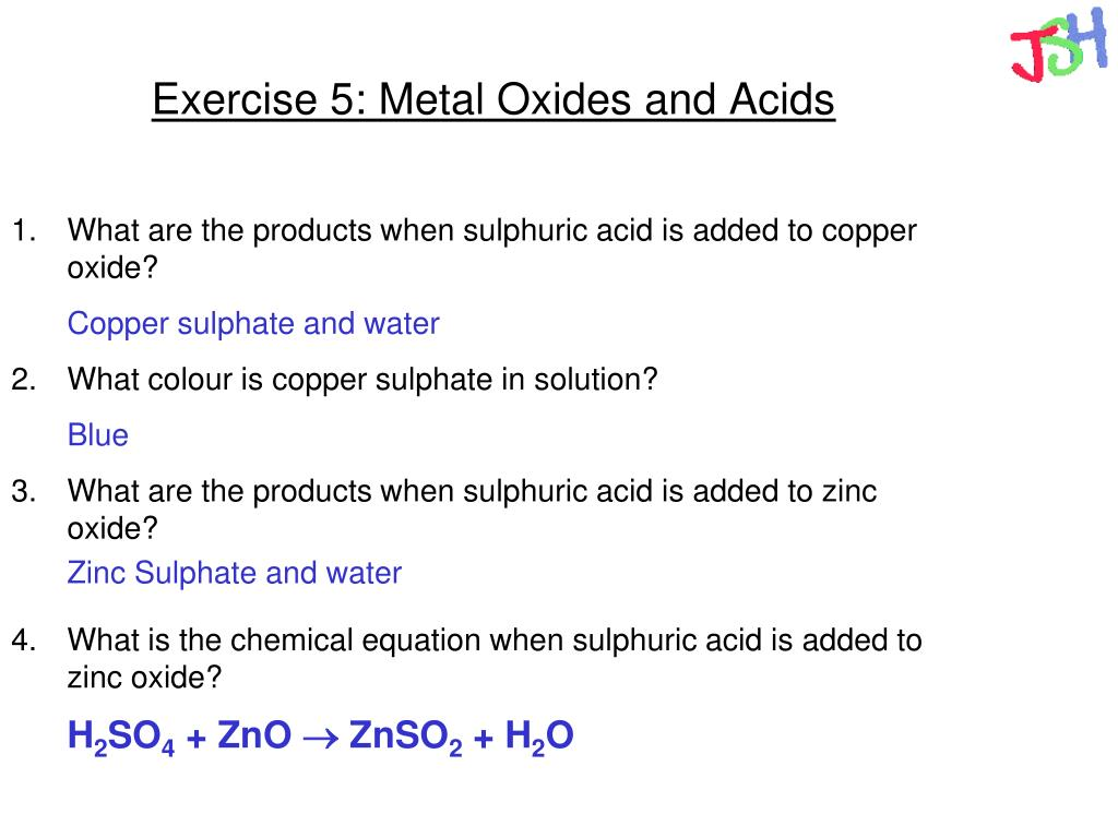 PPT - Metal Reactions and Reactivity PowerPoint Presentation